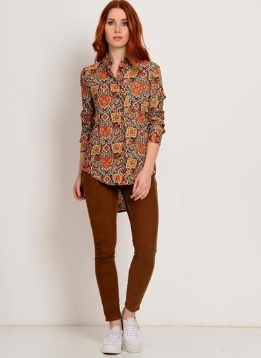 Glamorous Gömlek Renkli